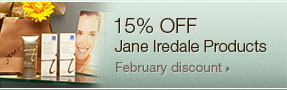 15 percent off Jane Iredale cosmetics; UW Health Transformations Jeune Skin Care; Madison, Wisconsin