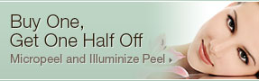 Buy one micropeel, get one half off; UW Health Transformations Jeune Skin Care; Madison, Wisconsin