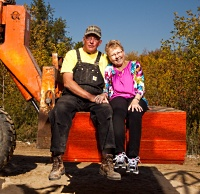 After her islet cell transplant, Kathy and Charles can focus on their construction and realty business.