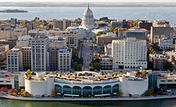 OptumHealth transplant conference: Image of Monona Terrace, the conference venue