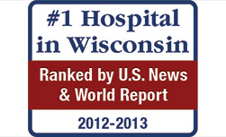 UW Hospital and Clinics ranked the No. 1 Hospital in Wisconsin by U.S. News and World Report