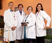 The pediatric urology program at American Family Children's Hospital offers comprehensive diagnostic, evaluation and treatment options in an environment both vibrant and comforting for its pediatric patients.
