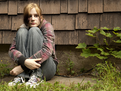 Depressed teen. Stephanie Steinman, UW Health AODA counselor