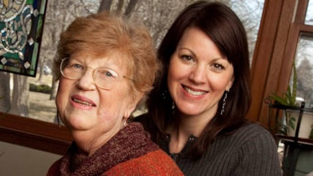 UW Hospital and Clinics transplant patients Becky and her mother