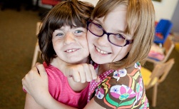 American Family Children's Hospital's Sick Kids Can't Wait campaign: Two young girls
