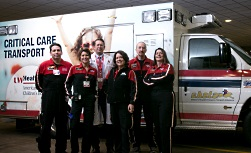 American Family Children's Pediatric Critical Care Transport team
