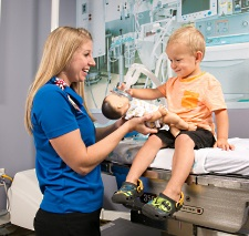 Child Life specialists at American Family Children's Hospital help children cope with being in the hospital.