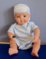 Child Life EEG teaching sheet: Gauze Head Wrap