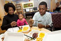 Family Meals at American Family Children's Hospital