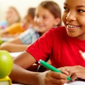 UW Health pediatric diabetes quiz: Girl in school