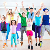 UW Health pediatric diabetes quiz: Kids in gym class