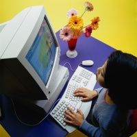 Help your child understand why they need to be cautious of information on the Internet.
