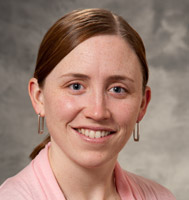 American Family Children's Hospital pediatric hospitalist Erin Turner