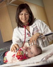 Pediatric hospitalist Mary L. Ehlenbach, MD