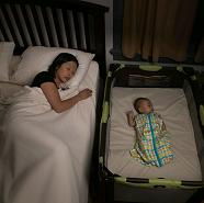 Separate sleep environments for mother and baby are a tenet of the Kohl's Safe to Sleep program.