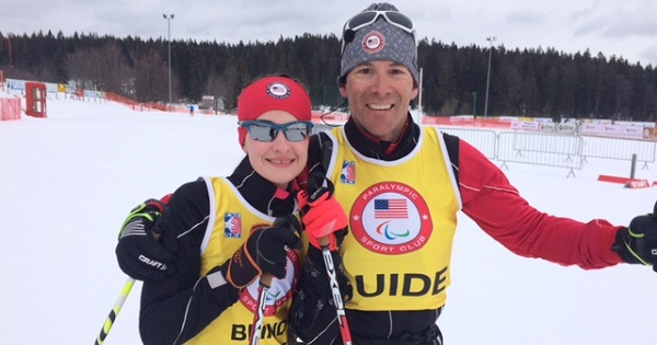 Mia Zutter is a competitive skier who represented the U.S. in the 2018 paralympic games