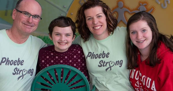 The Yancey Family shares their experience when 11-year-old Phoebe was diagnosed with a brain tumor.