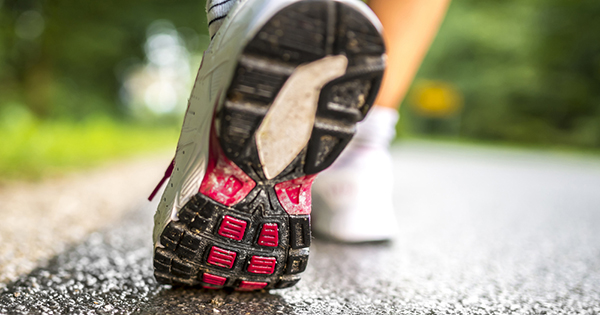 Running shoe; UW Health Sports Medicine experts explain whether changing your stride can help reduce running injuries