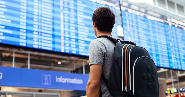 Airport traveler; Tips to stay healthy when traveling by air