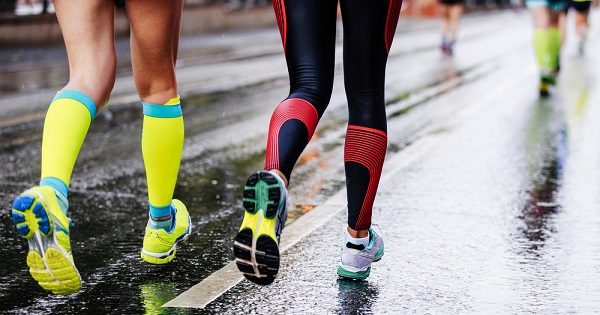 e0d21b761c UW Health researcher Bryan Heiderscheit explains whether compression socks  actually help runners improve their performance