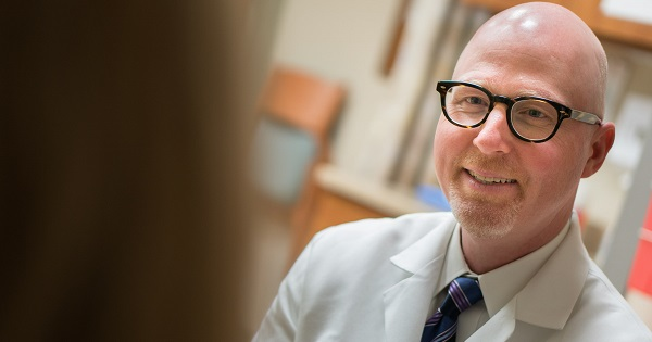 Dr. Stephen Rose, gyncologic oncologist with the UW Carbone Cancer Center, uses humor to help patients feel more at ease