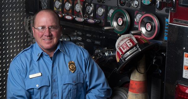 Lt Terry Ritter's life was changed through a clinical trial at the UW Carbone Cancer Center