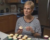 UW Health Digestive Health Services patient Dana, making her famous cupcakes