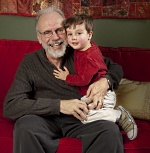 Palmer Bell, with his grandson