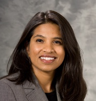Dr. Sumona Saha evaluates patients with gastrointestinal disorders at the UW Health Digestive Health Center.