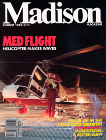 "A Med Flight story in ""Madison Magazine"" cited the controversy over the noise its take-offs and landings brought to neighborhoods close to UW Hospital. Defending the new transport service, a UW official quoted in the story said, ""The creation of a center to provide high-level trauma care is part of the reason UW Hospital and Clinics decided to establish Med Flight."""