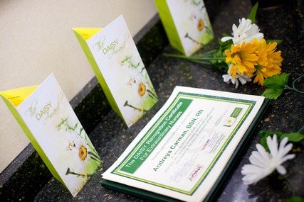 The DAISY Award program has honored more than 30,000 nurses in the U.S., Canada, England, Lebanon, Saudi Arabia, Taiwan and Thailand.