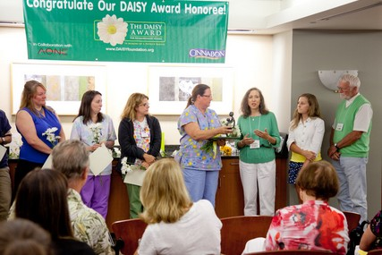 The inaugural DAISY Award presentation at UW Hospital and Clinics was July 19.