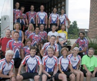 Red's Riders, the UW Health-sponsored team in Bike MS