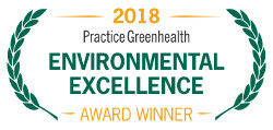 2018 Practice Greenhealth Environmental Excellence Award Winner
