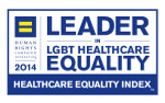 Leader in LGBT Healthcare Equality, HEI