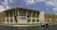 A rendering of the Union Corners clinic, slated to open in 2016.