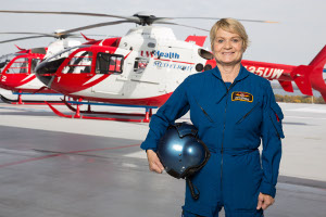 Med Flight and American Family Children's Hospital Emergency Transport Ambulance nurse Sarah Larson