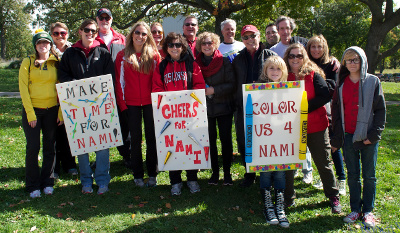 Team UW Health at 2014 NAMI Walk on Oct. 5