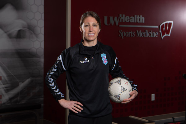 UW Health Sports Performance coach Alison Regal is working with Forward Madison FC, the city's new professional soccer team.