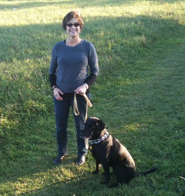 Patty Neumueller can once again enjoy walks with her dog, Zoe, after having both hips replaced by UW Health Orthopedic Surgeon Richard Ilgen