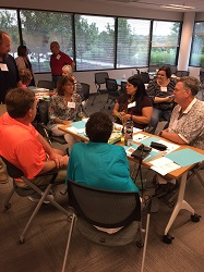 Recipients and donor family members discussed ways to grow the donor registry.
