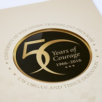 50 Years of Courage celebrates the anniversary of the UW Health Transplant Program and UW Organ and Tissue Donation