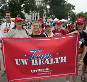 Team UW Health at 2010 Transplant Games