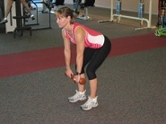 Runners Strength Dumbbell Row