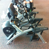UW Health's Fitness Center now has the Cybex Arc Trainer for a non-impact aerobic workout