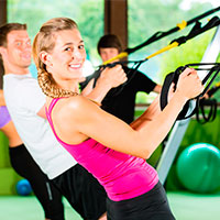 TRX is a new class at the UW Health Fitness Center