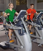 UW Health Sports Medicine Fitness Center: Two exercisers