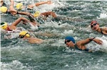 UW Health Sports Medicine Sports Psychology: Triathletes swimming