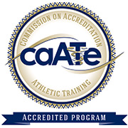 Commission on Accreditation Athletic Training logo