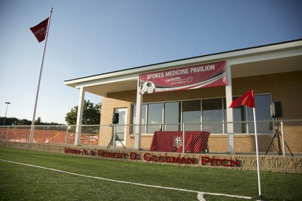 The grand opening of the UW Health Sports Medicine Pavilion was Sept. 24, 2013.